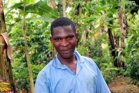 Grandson of Maracarena, a TASO Masaka beneficiary.