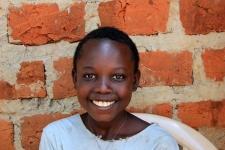 Darling daughter of a Heifer farmer outside Kampala
