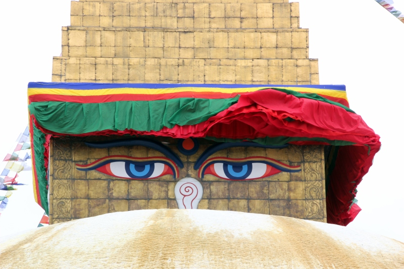 The eyes of the Buddha