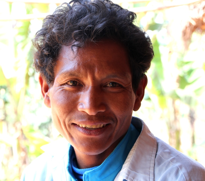 Shiva Lal Chepang, teacher extraordinaire.