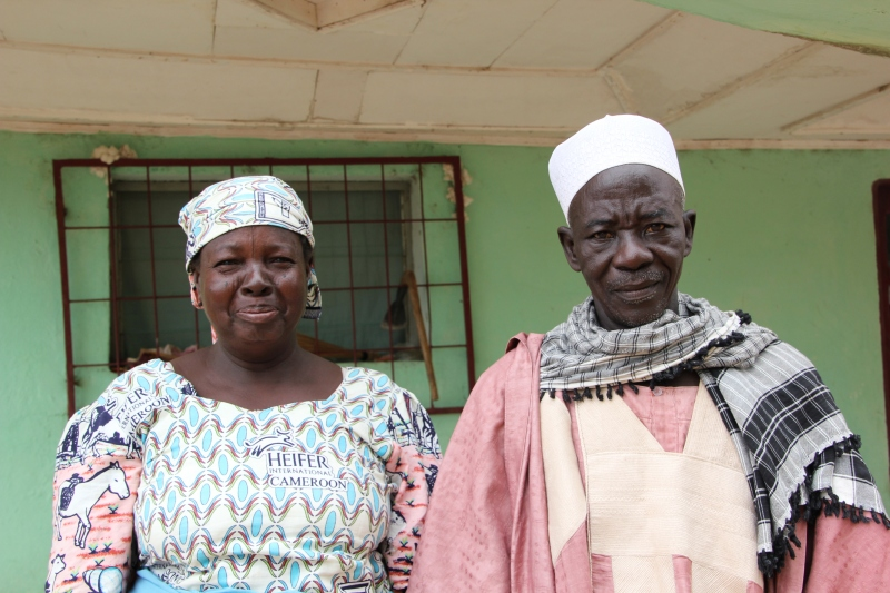 Even Village Chief Ezekiel shares the work with his wife Sali Damdam.