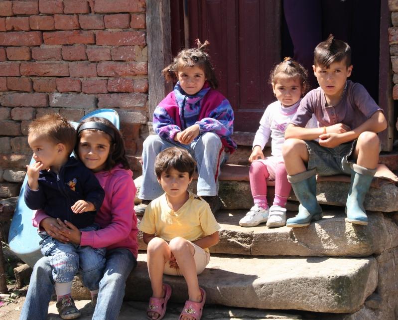 About half of Ion's children/grandchildren.