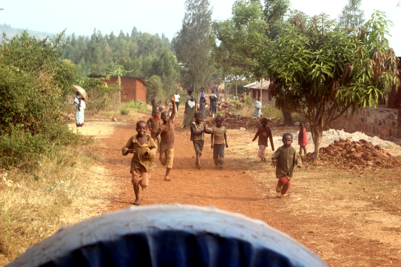 Leaving Kibungo...