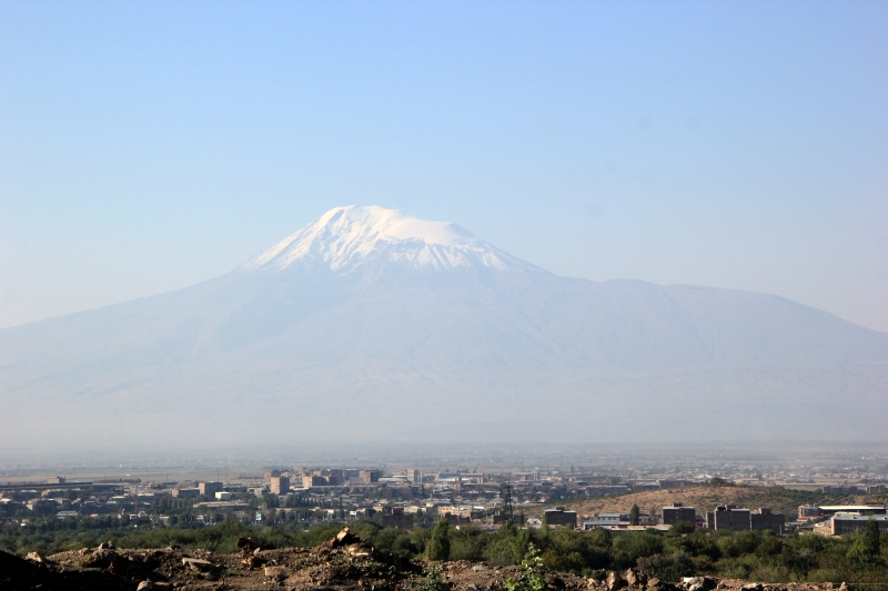 Even Armenia's beloved Mt. Ararat, where Noah's Ark supposedly landed, is now part of Turkey.