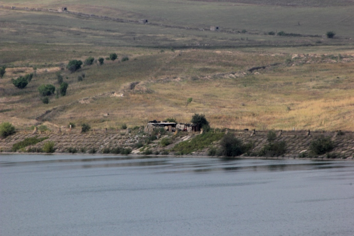 Across the lake and in gunsight: the Azerbaijan Border Station