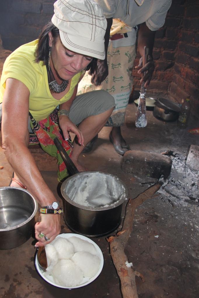 making nsima
