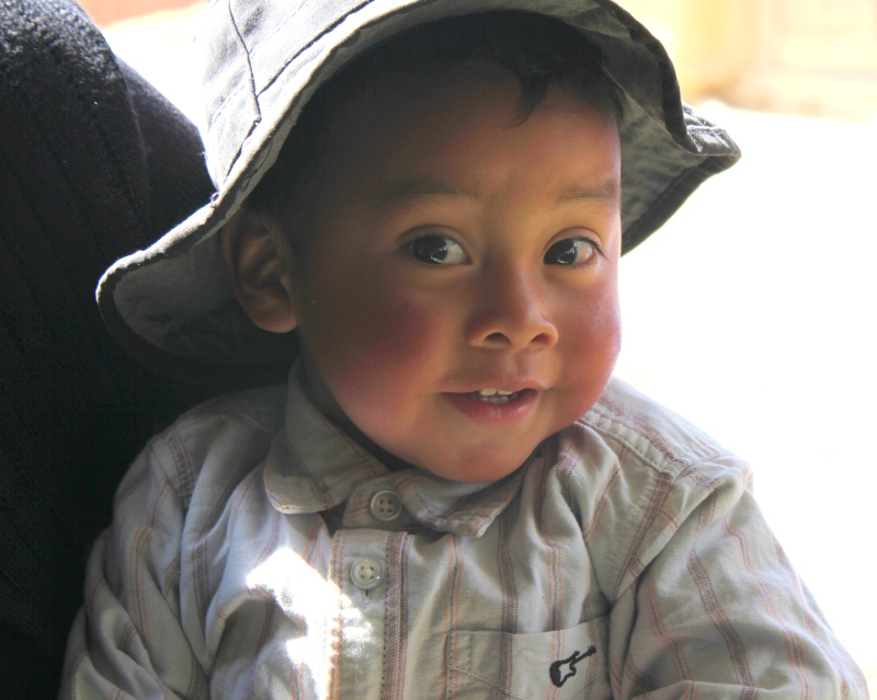 And of course, Guatemalan children are just off-the-charts adorable!