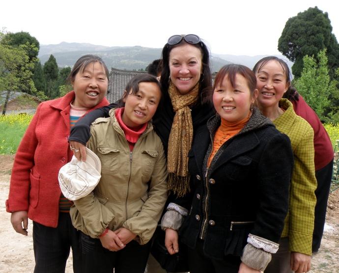 The women of Fuxing & me.