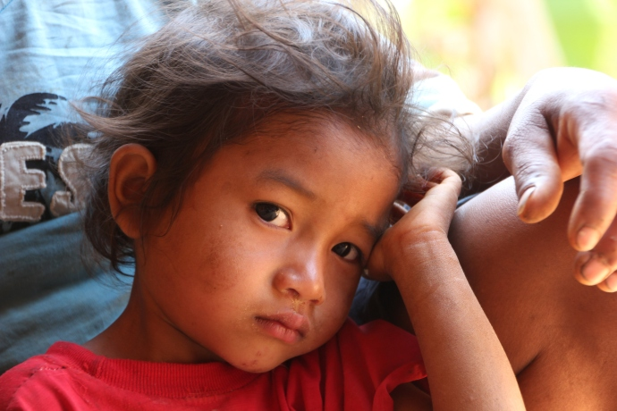 Chepang child