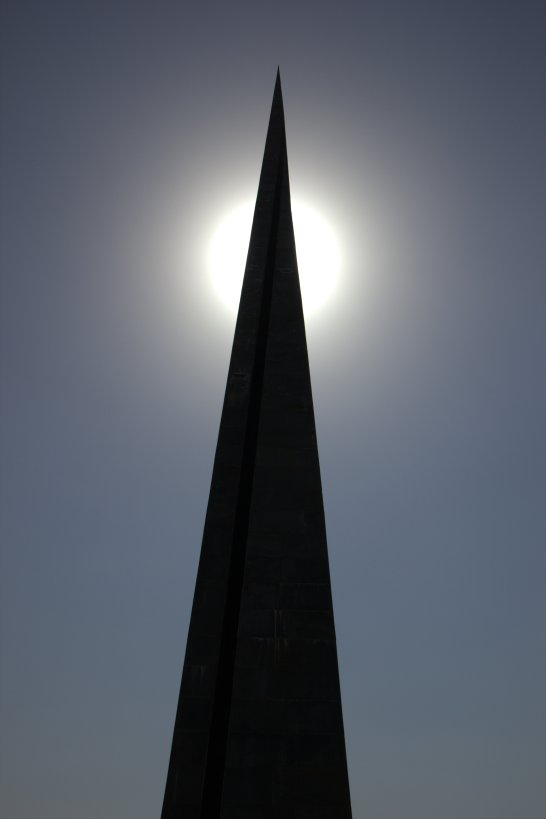 The Armenian Genocide Monument in Yerevan
